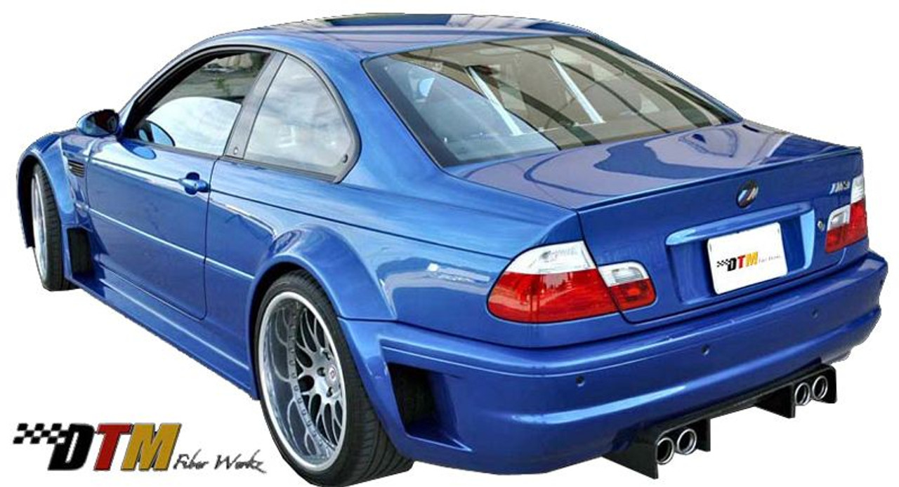 Gtr Race Style Widebody Kit For 1999 2006 Bmw 3 Series 2 Door E46 Frp By