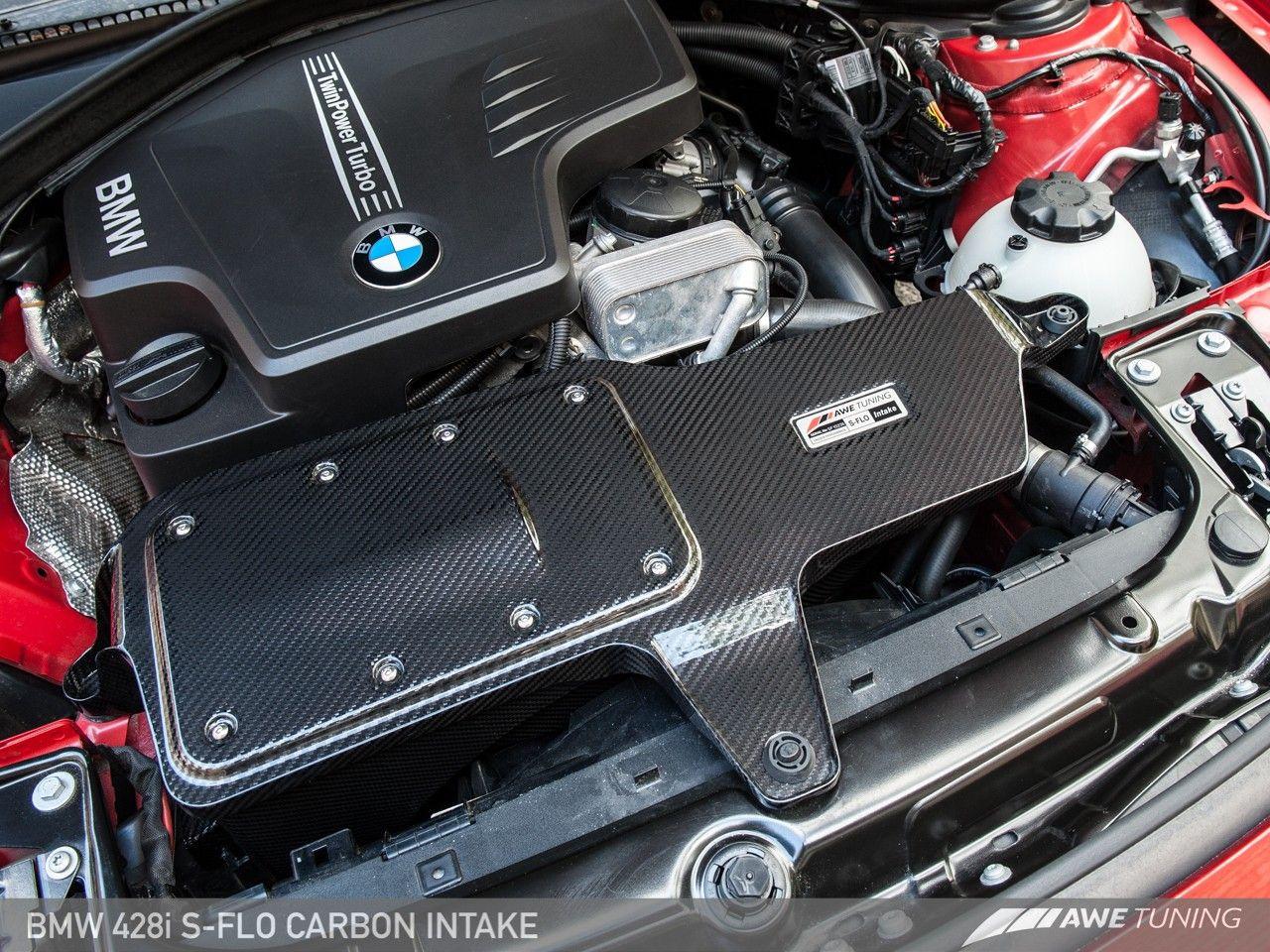Awe Tuning S Flo Carbon Intake For 2012 Bmw 228i 328i 428i F22 F30 F32 2660 13034