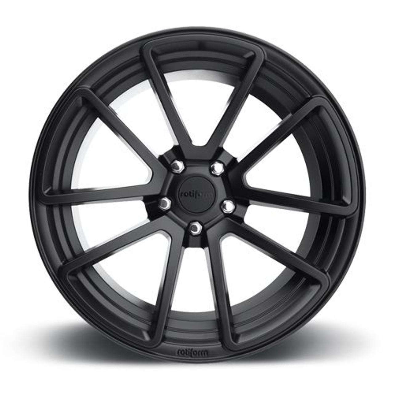 Rotiform Spf Wheels For Bmw 18 19 20 Matte Black 5x120mm Rotiform Spf Wheels For Bmw 18 19 20 Matte Black Finish 5x120mm