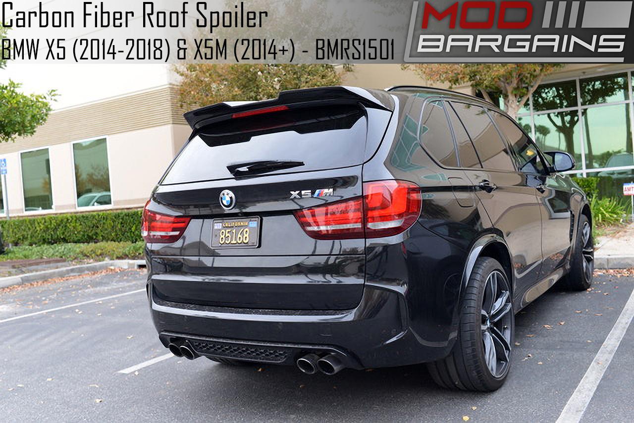 Carbon Fiber Roof Spoiler For Bmw X5 2014 2018 X5m 2014 Bmrs1501