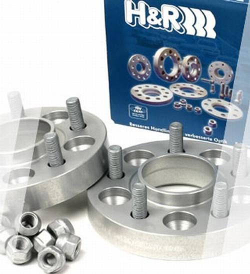 H/&R Blackline 40mm Hubcentric Wheel Spacers BMW X5 E70 Mk2 06 on 5x120