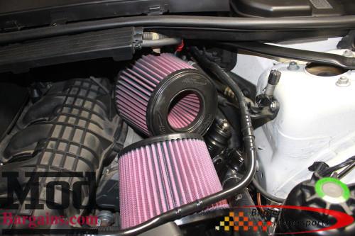 Burger Motorsports N54 DCI Dual Cone Intake BMW 135i 335i 535i Z4 WHITE FILTERS