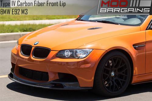 Cstar Carbon Fibreglass Rear Spoiler Lip similar performance suitable for BMW E92 M3