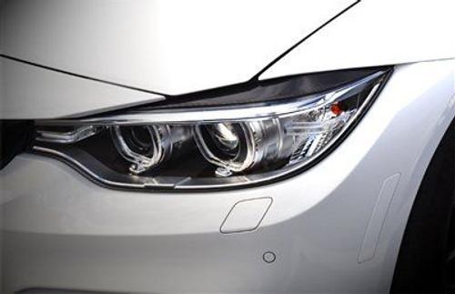 BMW 4-Series M3 M4 AutoTecknic BM-0239 Carbon Fiber Headlight Covers Fits 14