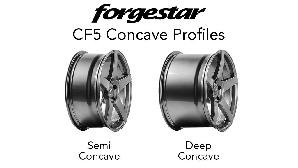 Forgestar CF5 Concave Profiles