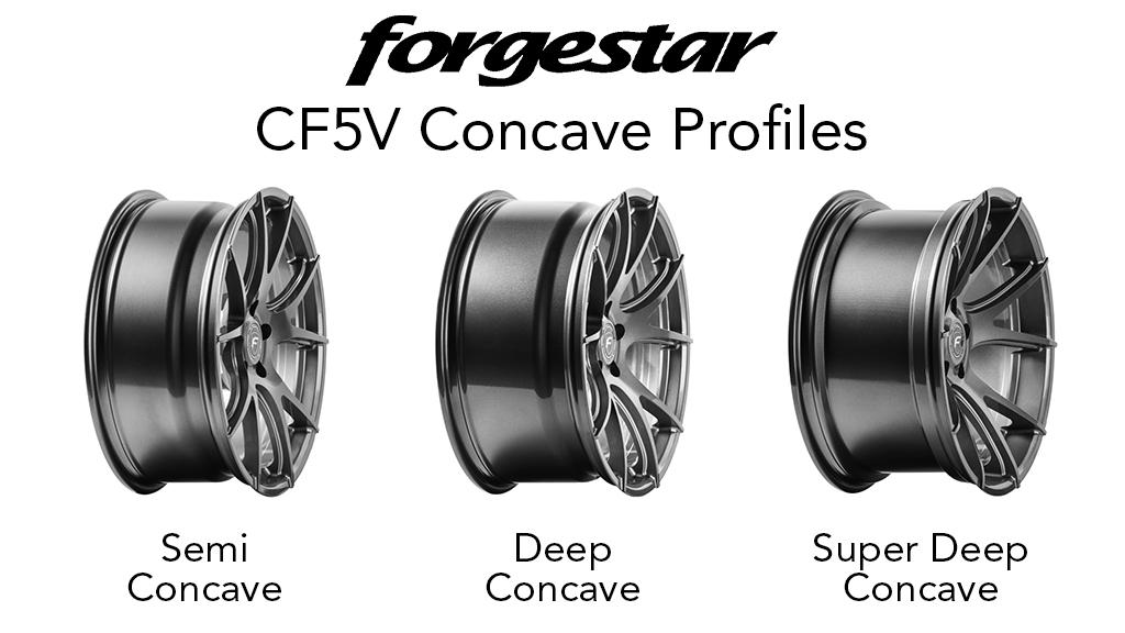Forgestar CF5V Concave Profiles