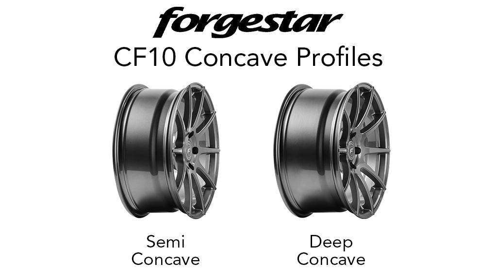 Forgestar CF10 Concave Profiles