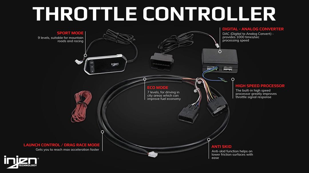 Injen X-Pedal PRO Throttle Controller Details