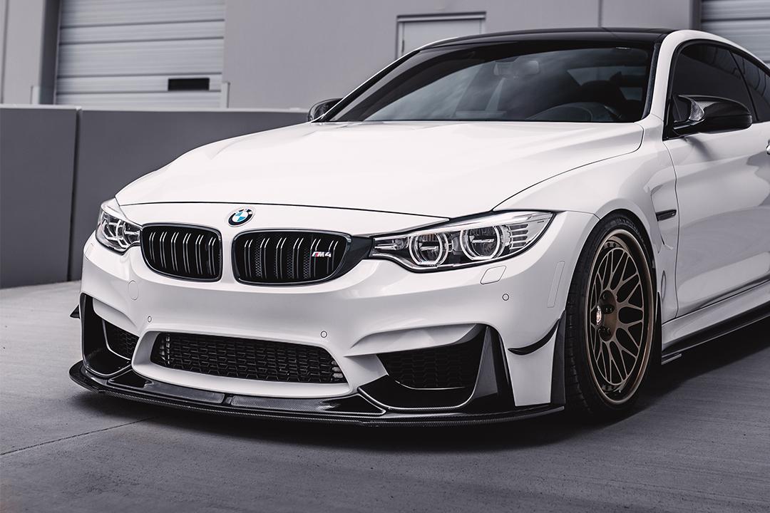 ModBargains BMW Carbon Fiber Front Lip Splitter Spoiler