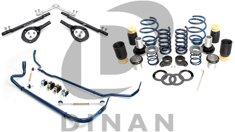 Dinan Suspension and Handling Coilovers Springs Swaybars Strut Braces
