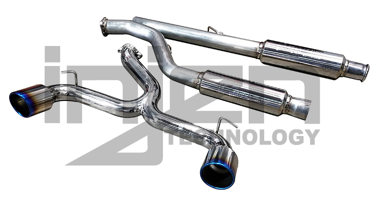 Injen Exhaust Systems Cat-Back Turbo-Back Axle-back