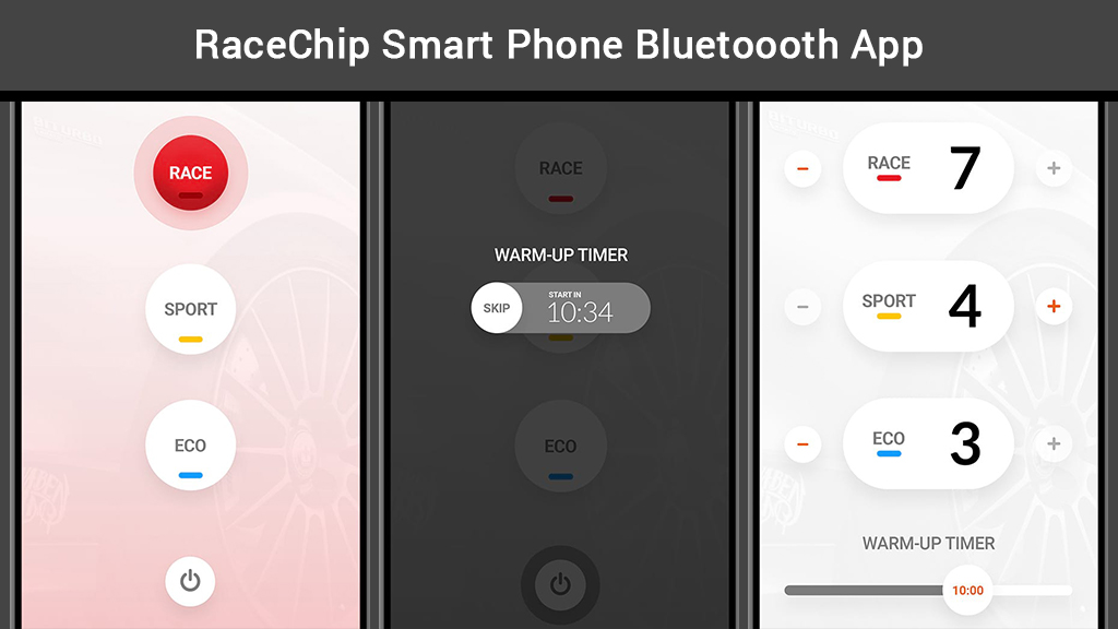 RaceChip Bluetooth Smartphone App
