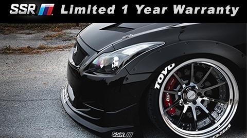 ssr wheels 1 year limited warranty, modbargains