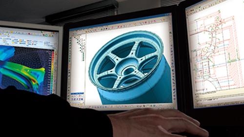 volk racing TE37 design