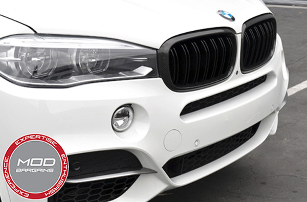 BMW Carbon FIber Grille for X5 [F15] X5M [F85] X6 [F16] X6M [F86] (BM-0174-DS-CF)