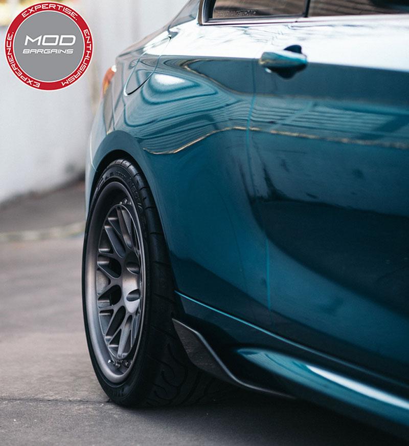 BMW Carbon Fiber WInglets for 2016 M2 [F87] #51192365984-51192365985