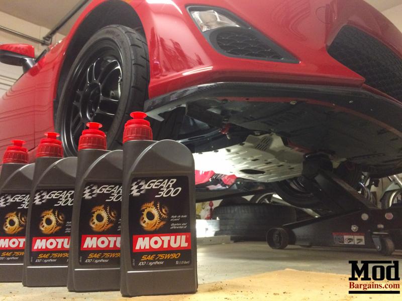 motul 75w90 gear fluid for frs and brz