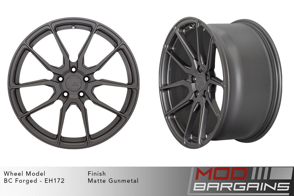 BC Forged EH172 Monoblock Forged Aluminum Directional 10 Spoke Concave Wheels Brushed Bronze Modbargains
