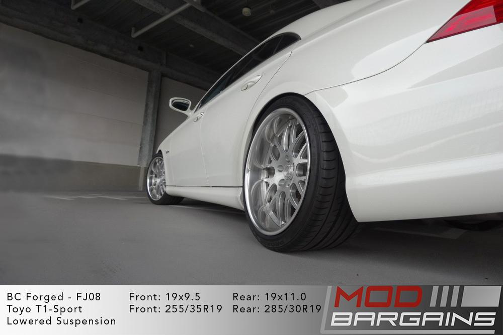 Mercedes CLS 63 AMG BC Forged FJ08 Wheels ModBargains