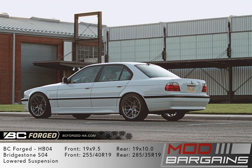 BMW E38 740i BC Forged HB04 Wheels ModBargains
