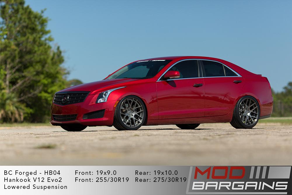 Cadillac ATS BC Forged HB04 Wheels ModBargains