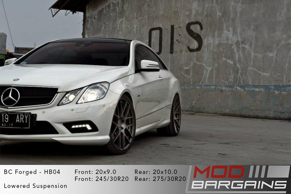 Mercedes C207 E-Class Coupe BC Forged HB04 Wheels ModBargains