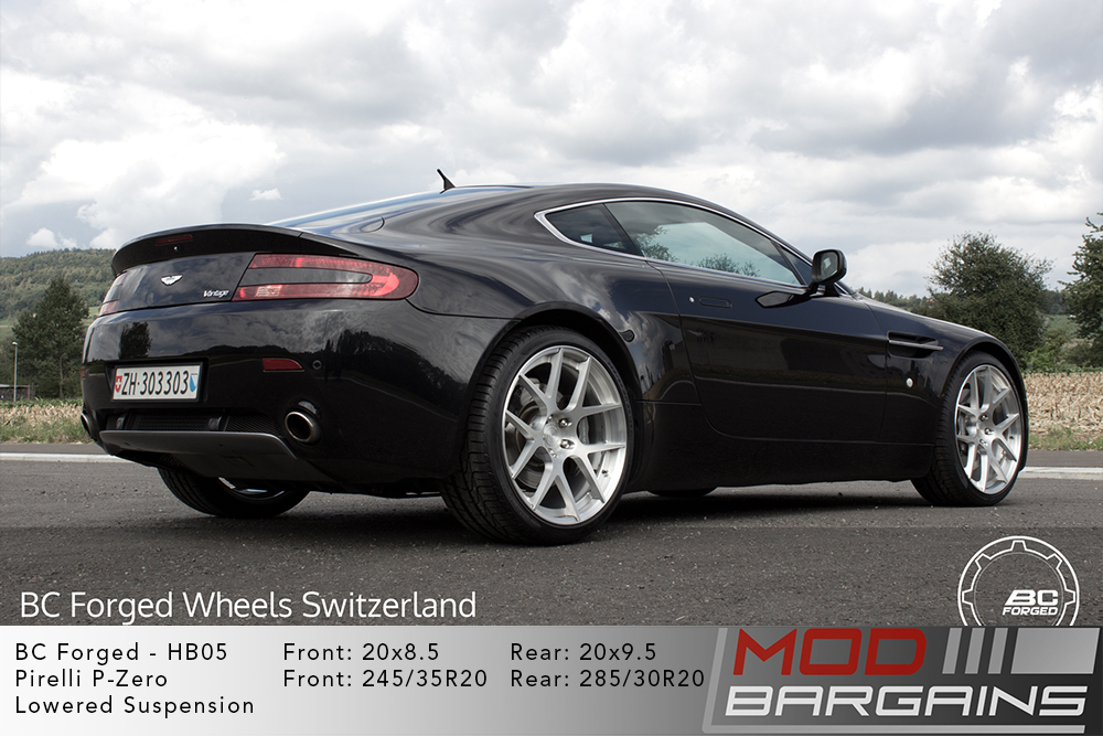 Aston Martin V8 Vantage BC Forged HB05 Wheels ModBargains