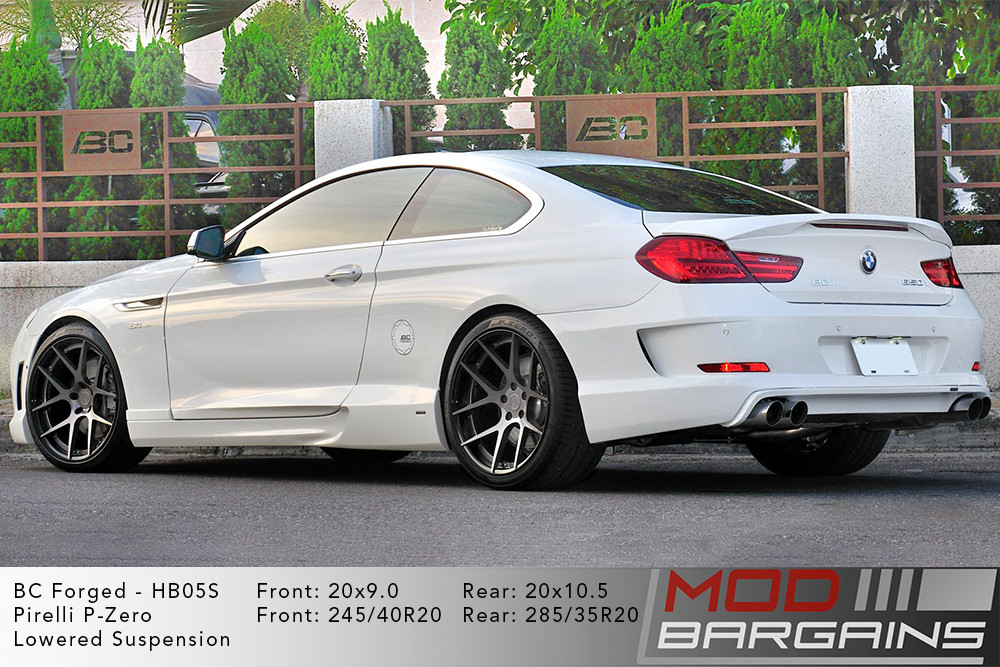 BMW F13 650i BC Forged HB05 Wheels ModBargains