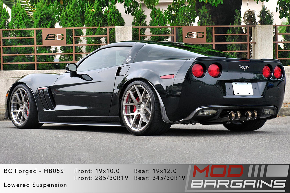 Chevrolet Corvette C6 BC Forged HB05 Wheels ModBargains
