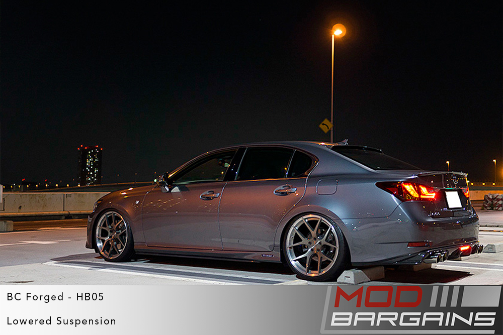Lexus GS-F BC Forged HB05 Wheels ModBargains
