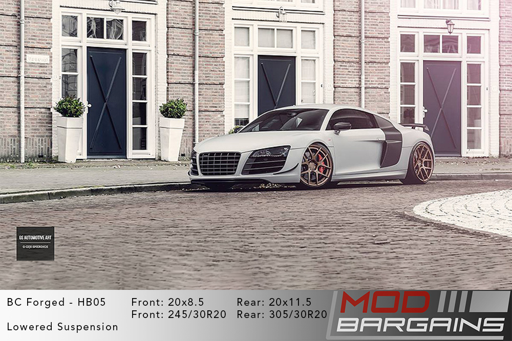 Audi R8 BC Forged HB05 Wheels ModBargains