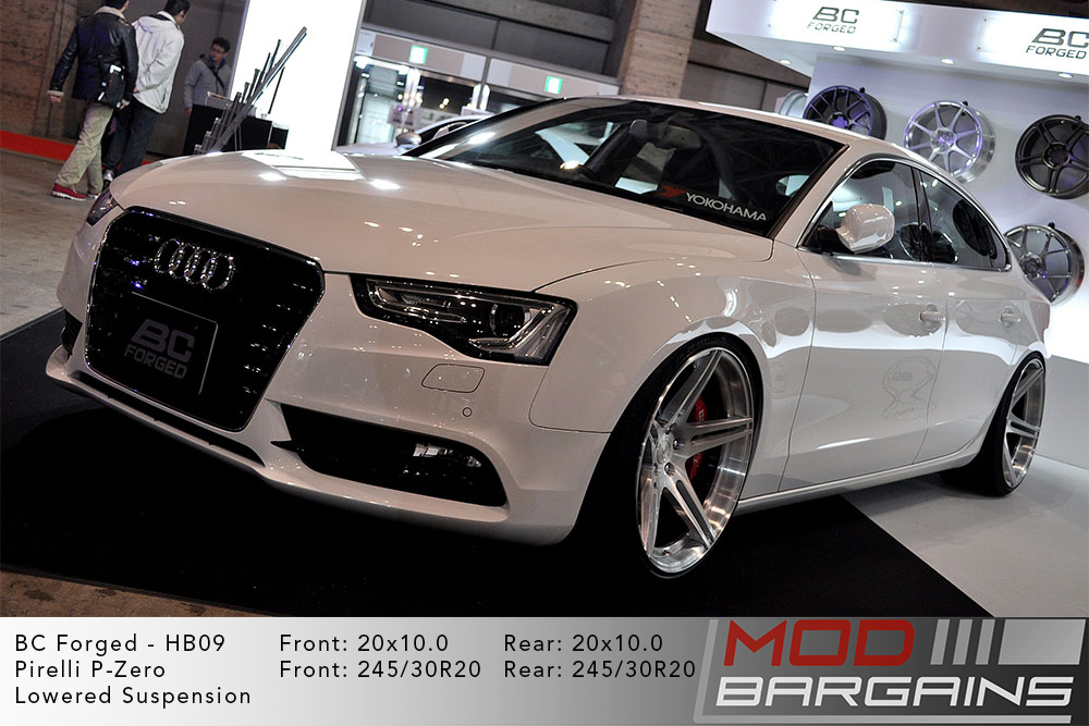 Audi B8.5 A5 Sportback BC Forged HB09 Wheels ModBargains