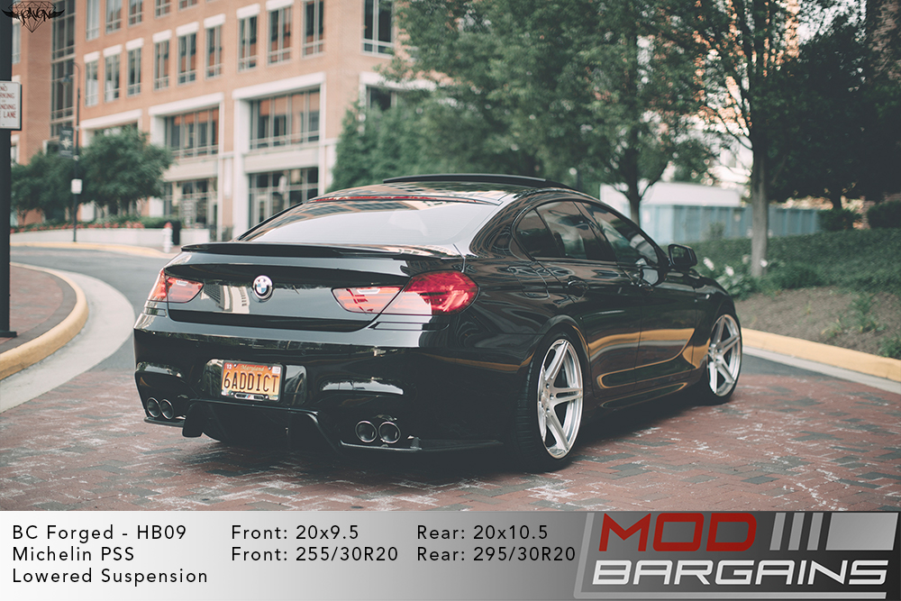 BMW F06 M6 BC Forged HB09 Wheels ModBargains