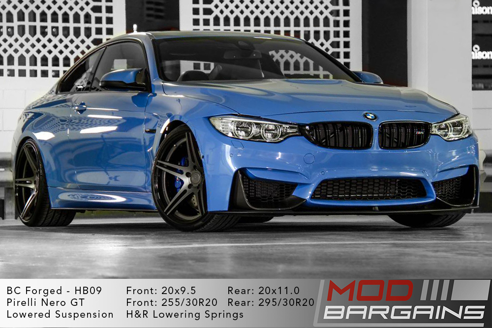 BMW F82 M4 BC Forged HB09 Wheels ModBargains