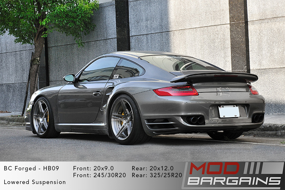 Porsche 997 911 Turbo BC Forged HB09 Wheels ModBargains