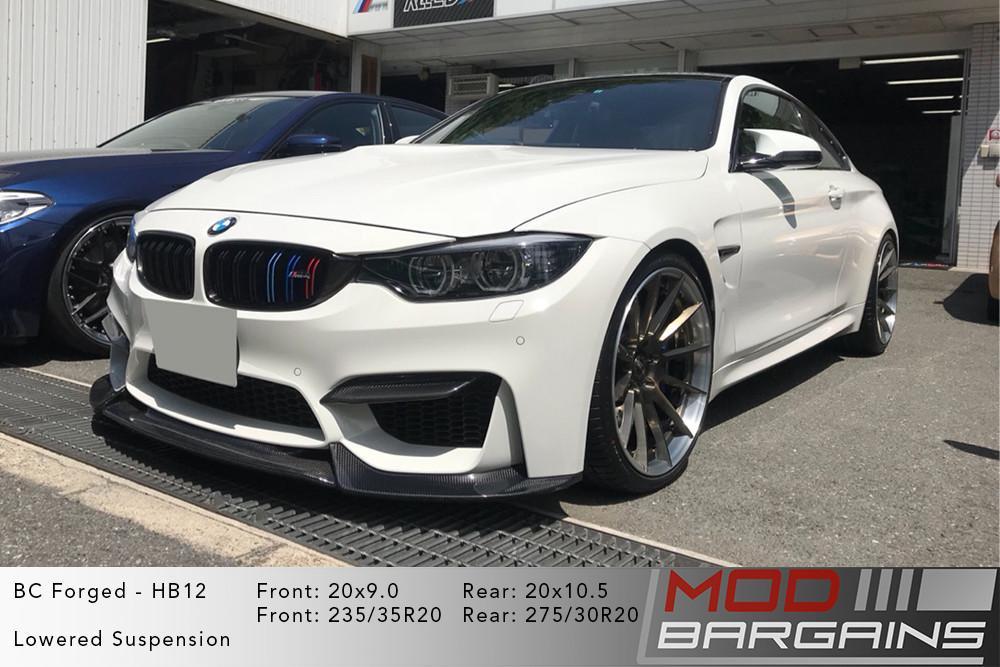 BMW F82 M4 BC Forged HB12 Wheels ModBargains