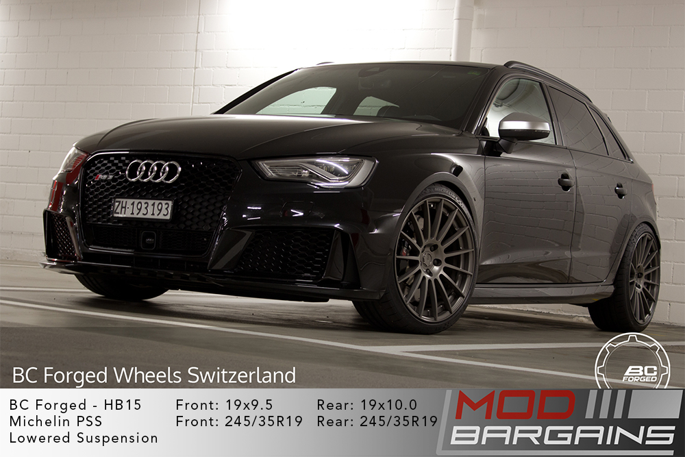 Audi 8V RS3 BC Forged HB15 Wheels ModBargains