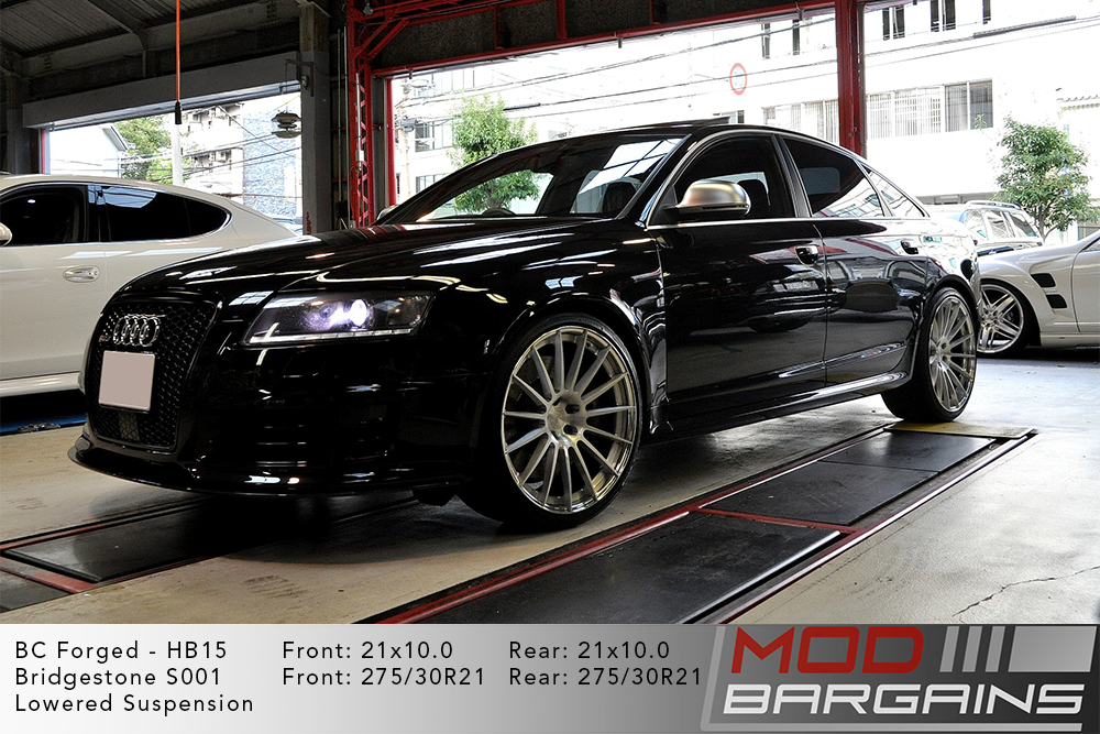 Audi C6 RS6 BC Forged HB15 Wheels ModBargains