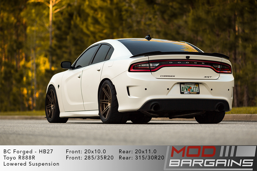 Charger Hellcat BC Forged HB27 Wheels ModBargains