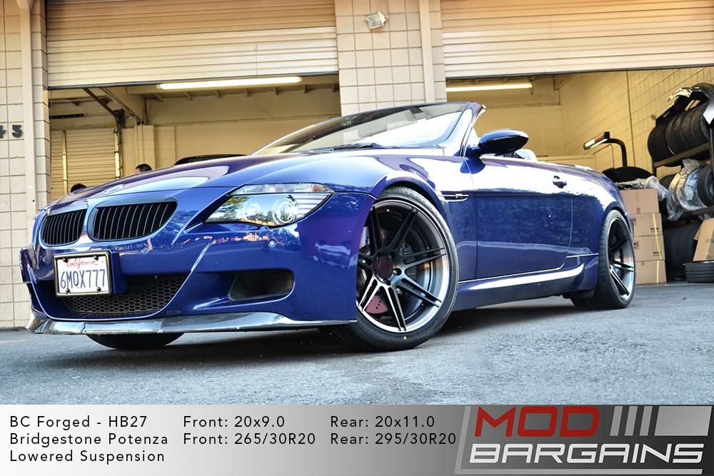 BMW E64 M6 BC Forged HB27 Wheels ModBargains