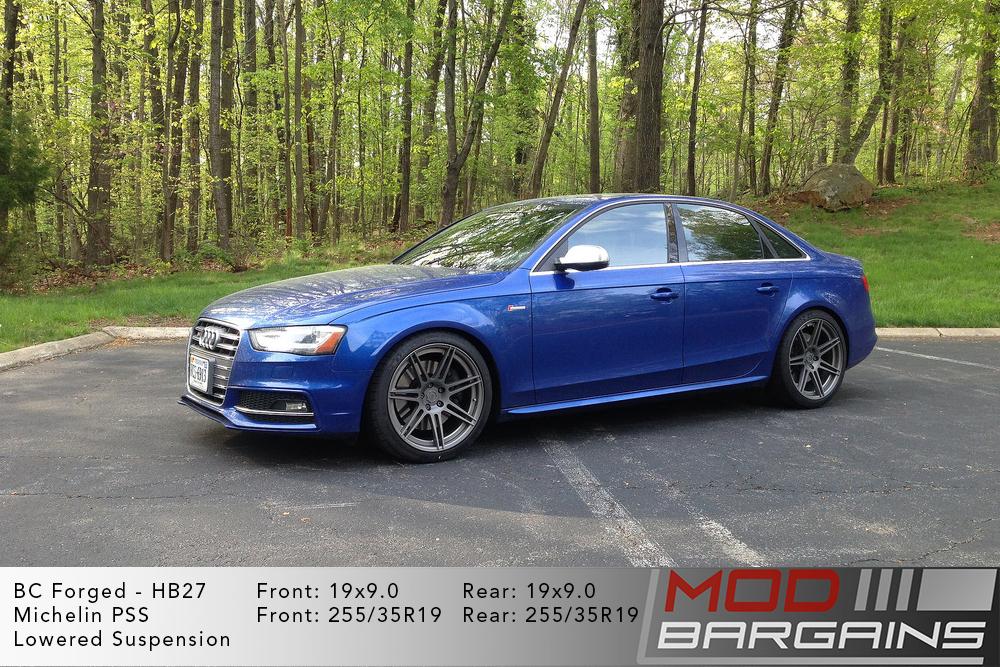 Audi B8.5 S4 BC Forged HB27 Wheels ModBargains
