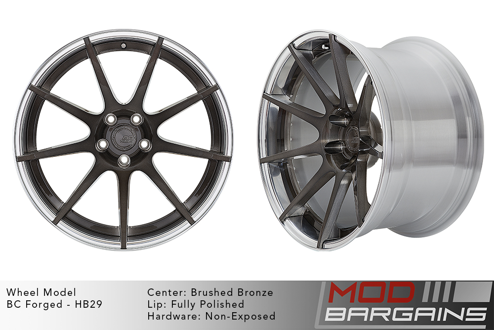 BC Forged Modular HB29 Wheels Modbargains