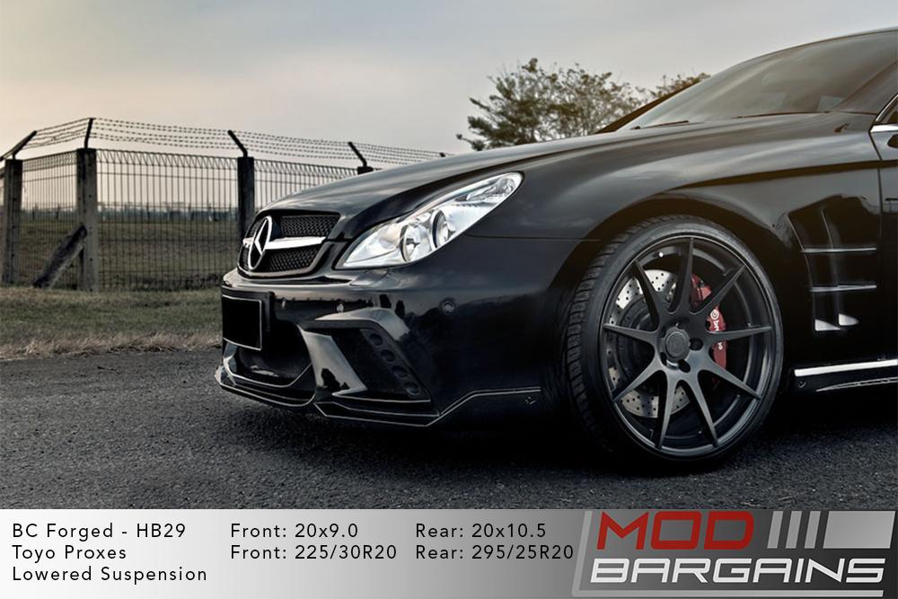 Mercedes W218 CLS BC Forged HB29 Wheels ModBargains