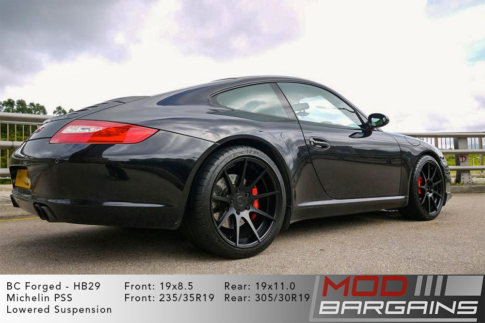 Porsche 997 911 Carrera S BC Forged HB29 Wheels ModBargains
