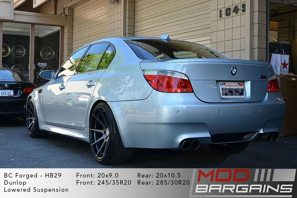 BMW E60 M5 BC Forged HB29 Wheels ModBargains