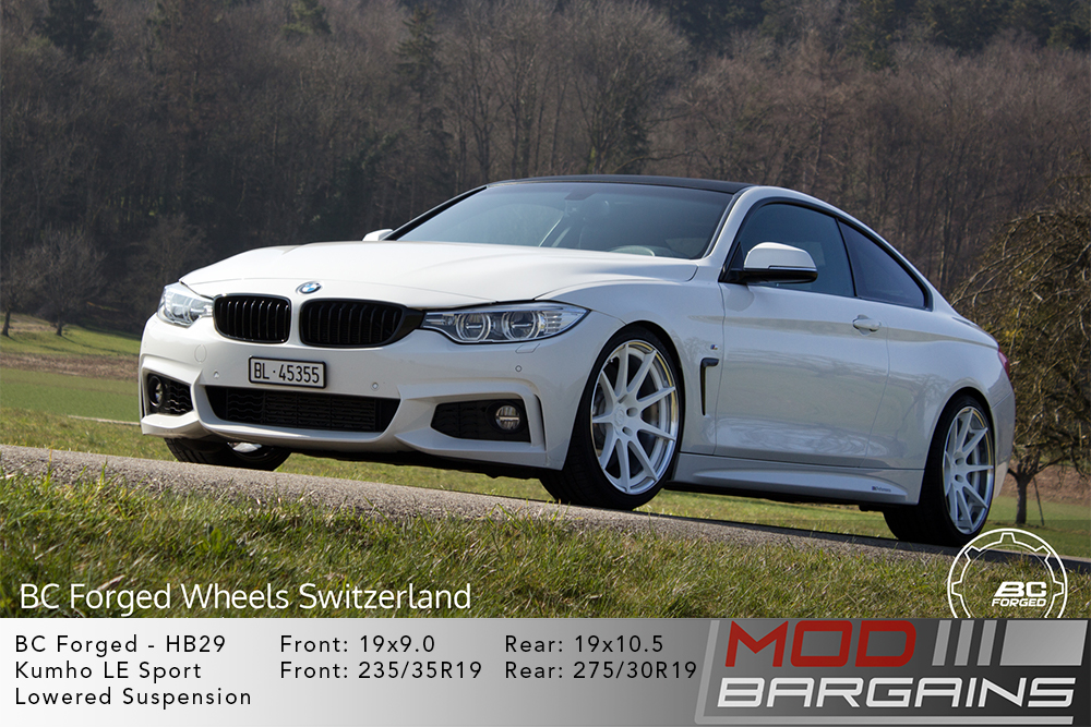 BMW F32 4-Series BC Forged HB29 Wheels ModBargains