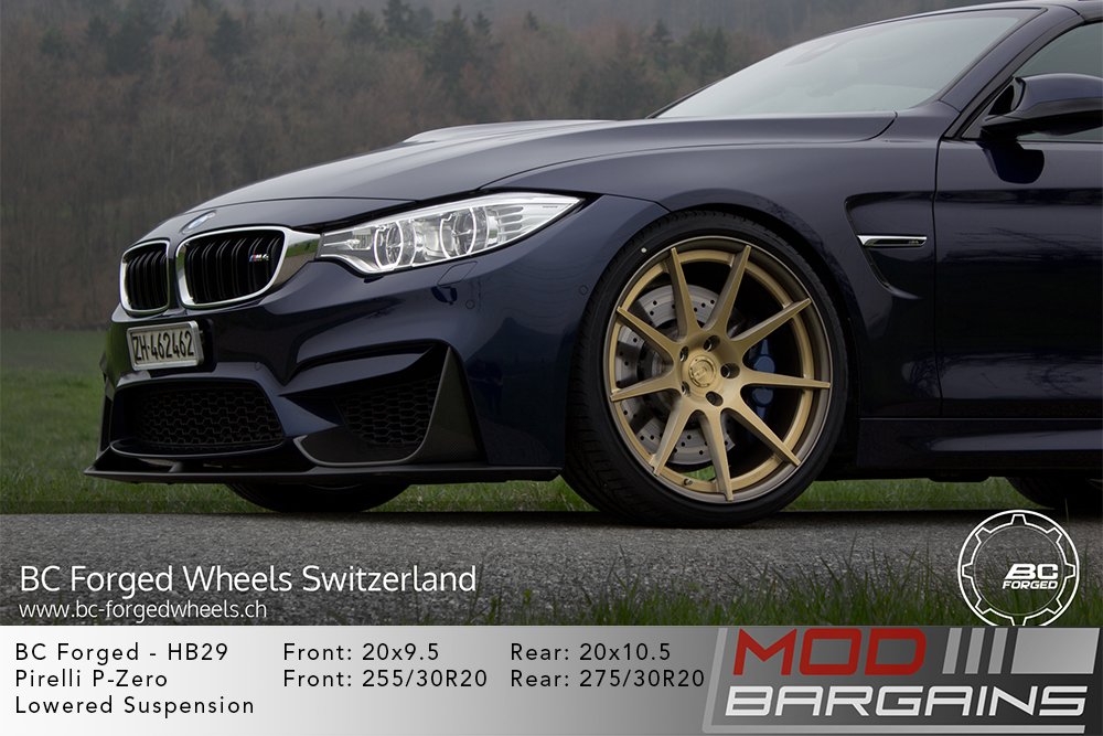 BMW F83 M4 BC Forged HB29 Wheels ModBargains