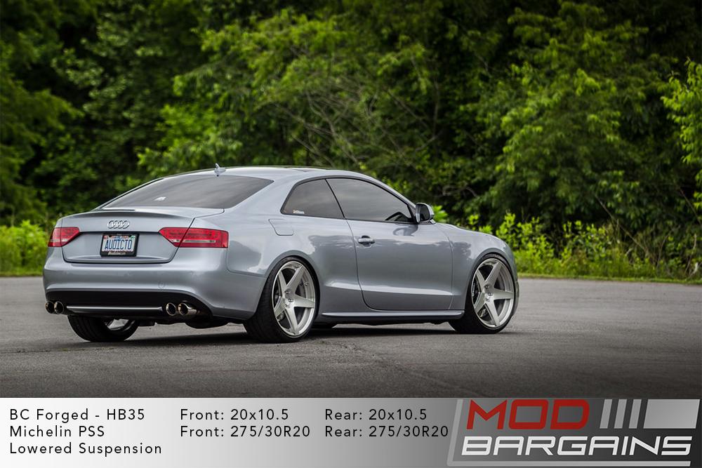 Audi B8 S5 BC Forged HB35 Wheels ModBargains