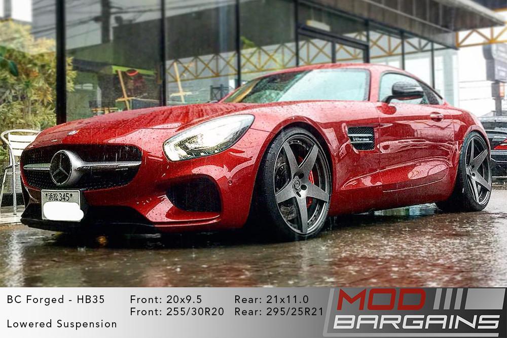 Mercedes AMG GT BC Forged HB35 Wheels ModBargains