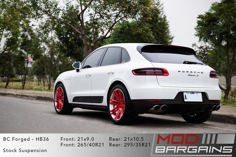 Porsche Macan S BC Forged HB36 Wheels ModBargains